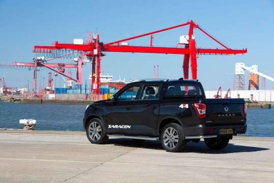 Ssangyong Musso Pick-Up LWB Doulble Cab Pick Up 2.2 Rhino Auto