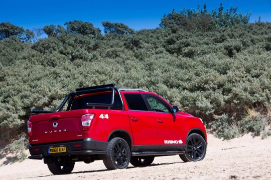 Ssangyong Musso Pick-Up Doulble Cab Pick Up 2.2 Rebel Auto
