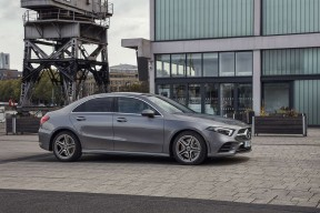 Mercedes-Benz A Class Diesel Saloon A180d Amg Line Executive 4dr Auto