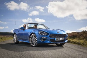 Fiat 124 Spider Convertible Special Editions