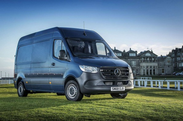 Mercedes eSprinter Van