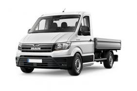 Man Truck And Bus UK TGE Chassis Cab