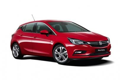 Vauxhall Astra lease car