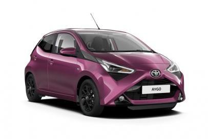 Toyota Aygo lease car