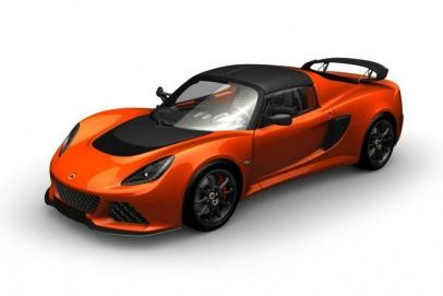 Lotus Exige lease car