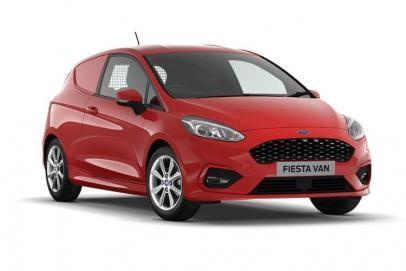 Ford Fiesta lease van