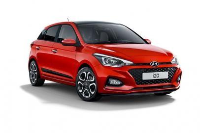 Hyundai i20 lease car