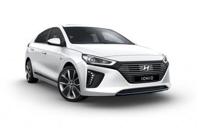 Hyundai Ioniq lease car