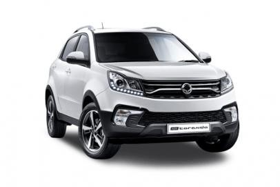 Ssangyong Korando lease car