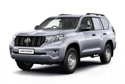 Toyota Land Cruiser lease van