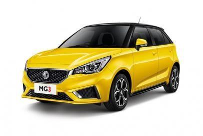 MG Motor UK 3 lease car