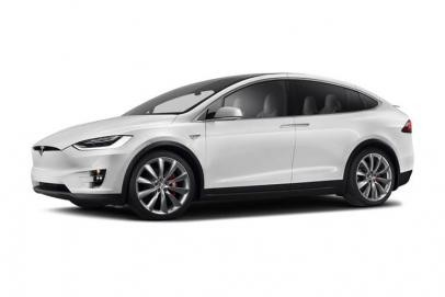 Tesla Model X lease car