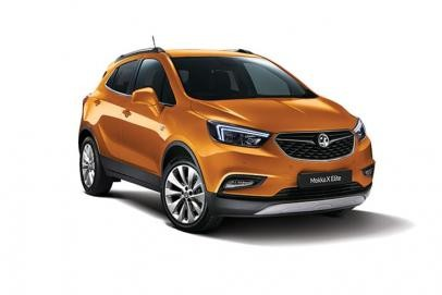 Vauxhall Mokka X lease car