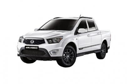 Ssangyong Musso lease van