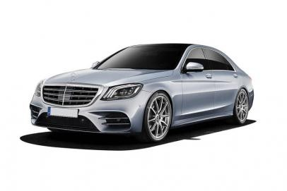 Mercedes S-Class lease car