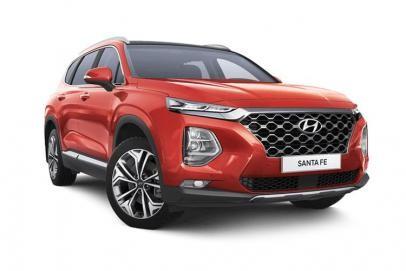 Hyundai Santa Fe lease car