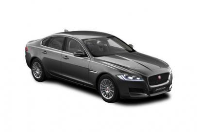 Jaguar XF lease car